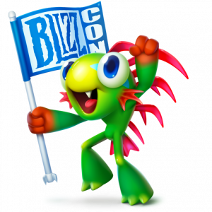 Бесплатный подарол Blizzard BlizzCon
