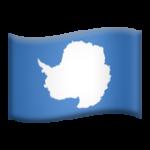 Смайл флаг Антарктиды ВКонтакте