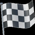 Смайл флаг Клетчатый ВКонтакте