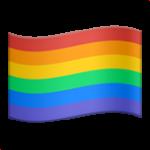 Смайл флаг Радужный ВКонтакте