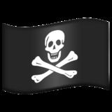 Смайл флаг Пиратский ВКонтакте