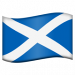 Смайл флаг Шотландии ВКонтакте
