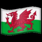 Смайл флаг Уэльса ВКонтакте