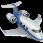 Смайл Маленький самолет ВКонтакте