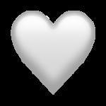 Смайл Белое сердце ВКонтакте