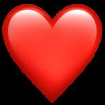 Смайл Алое сердце ВКонтакте