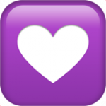 Смайл Значок сердце ВКонтакте