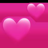 Смайл Два сердца ВКонтакте