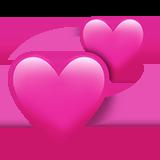 Смайл Вращающиеся сердца ВКонтакте