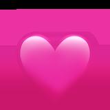 Смайл Пульсирующее сердце ВКонтакте