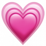 Смайл Растущее сердце ВКонтакте