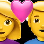Смайл Любящая пара: женщина