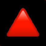 Смайл Треугольник вершиной вверх ВКонтакте