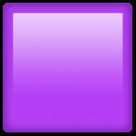 Смайл Фиолетовый квадрат ВКонтакте