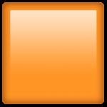 Смайл Оранжевый квадрат ВКонтакте