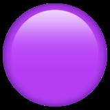 Смайл Фиолетовый круг ВКонтакте
