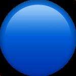 Смайл Синий шар ВКонтакте