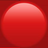 Смайл Красный шар ВКонтакте