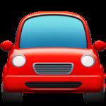 Смайл Автомобиль спереди ВКонтакте