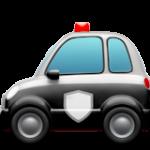 Смайл Полицейская машина ВКонтакте