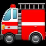 Смайл Пожарная машина ВКонтакте