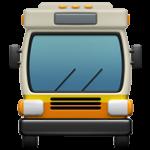 Смайл Автобус спереди ВКонтакте
