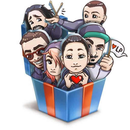 Стикеры Linkin Park ВКонтакте