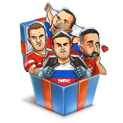 Стикеры МАТЧ ТВ ВКонтакте