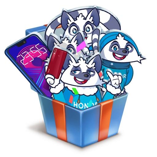 Стикеры Новый год с Гиком ВКонтакте