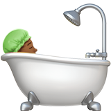 Смайл Принимает ванную (темно-коричневый тон) ВКонтакте