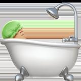 Смайл Принимает ванную (светло-коричневый тон) ВКонтакте