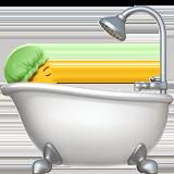 Смайл Человек в ванне ВКонтакте