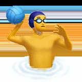 Смайл Мужчина играет в водное поло ВКонтакте
