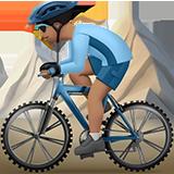 Смайл Горный велосипедист (оливковый тон) ВКонтакте