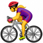 Смайл Велосипедистка ВКонтакте