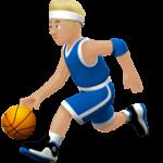 Смайл Светло-коричневый человек с мячом (светло-коричневый тон) ВКонтакте