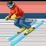 Смайл Горные лыжи ВКонтакте