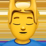 Смайл Мужчине массируют лицо ВКонтакте