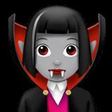 Смайл Женщина-вампир: средне-светлый тон кожи ВКонтакте