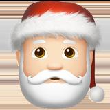 Смайл Дед Мороз (светлый тон) ВКонтакте