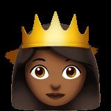Смайл Принцесса (темно-коричневый тон) ВКонтакте