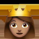 Смайл Принцесса (оливковый тон) ВКонтакте