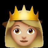 Смайл Принцесса (светло-коричневый тон) ВКонтакте