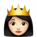 Смайл Принцесса (светлый тон) ВКонтакте