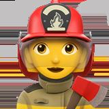Смайл Женщина-пожарный ВКонтакте