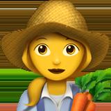 Смайл Женщина-фермер ВКонтакте