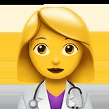Смайл Женщина-врач ВКонтакте