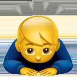 Смайл Мужчина кланяется ВКонтакте