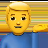Смайл Мужчина согнул руку ВКонтакте