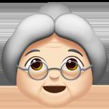 Смайл Бабушка (светлый тон) ВКонтакте